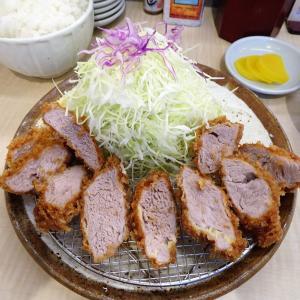 ■日吉の「とんかつ和栗」で、デカ盛りヒレかつ定食!