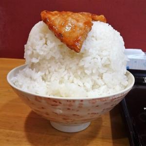 ■早稲田の「オトボケ」で、デカ盛り肉ナス炒め定食!