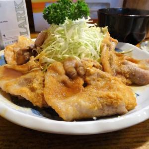 ■押上の「つかさ」で、デカ盛り生姜焼き定食!