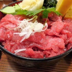 ■大手町の「玉乃光酒蔵」で、デカ盛りマグロ丼!