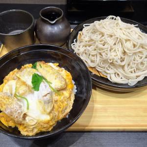 ■神保町の「小諸そば」で、デカ盛りカツ丼セット!