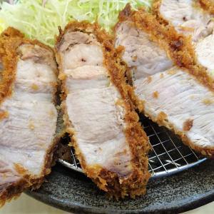■日吉の「とんかつ和栗」で、デカ盛りカタロースかつ定食!