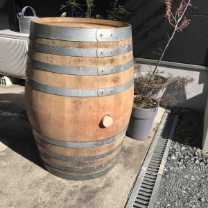 ワイン樽^ ^ 欲しかったアイテムが我が家に!