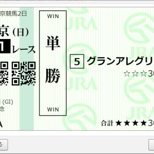 第71回安田記念GⅠ 購入