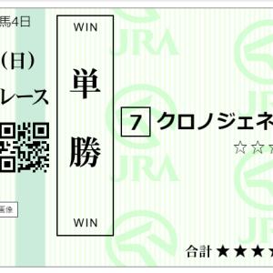 第62回宝塚記念GⅠ 購入