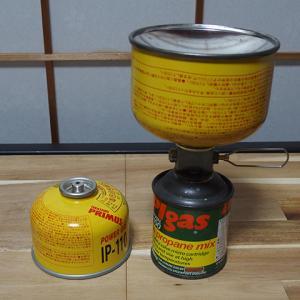 <相性があるよ!?>「OD缶」←→「CB缶」変換アダプターと「OD缶」ガス詰め替えアダプター