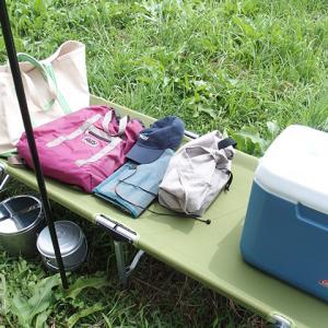 キャンプはもちろん自宅でも使える簡単コットを購入<コールマン パックアウェイ コット>