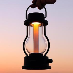 LEDランタンなのに炎のような神秘的な明かり・・・