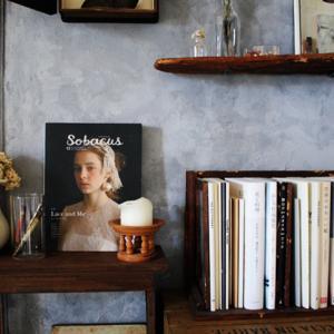 賃貸壁の可能性☆和室の壁をDIYペイント「ブックカフェ風」