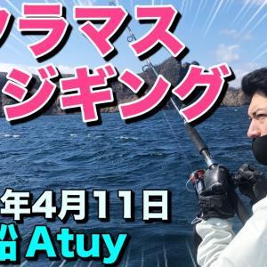 YouTube 4月11日 積丹遊漁船Atuy(アトゥイ)