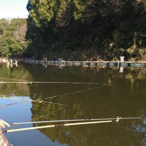 清遊湖に行ってきた。仮想試釣!?