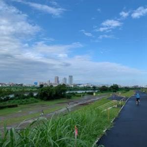 2週間ぶり、梅雨明けライド。やっぱり走るのは楽しい