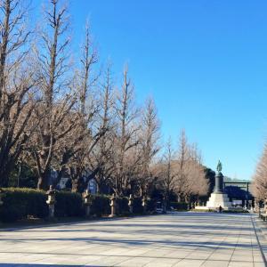 靖国神社へ初詣2021