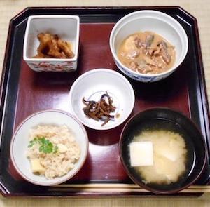 日ヶ窪町竹の子弁当