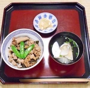 羽田丼あるいは羽田寿司