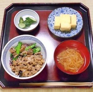 毎日一品江戸料理 羽田飯