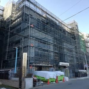 本館の改修工事