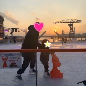 初めてのスケート☆と今週の取り組み状況。。。