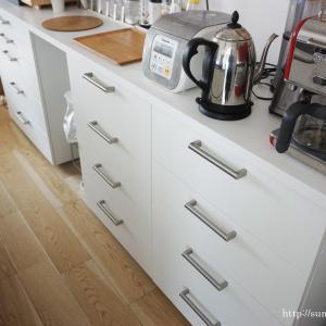 + IKEAのキッチン収納『METODメトード』を、自力で設置してみました。
