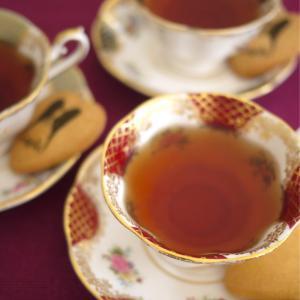 秋…紅茶が美味しい季節到来♪フランス紅茶とサブレで秋のティータイム♡