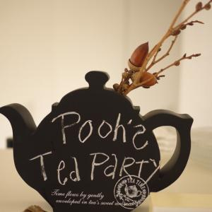 「Winnie-the-Pooh Tea Party」 レッスンレポート・・お料理の時間編♪
