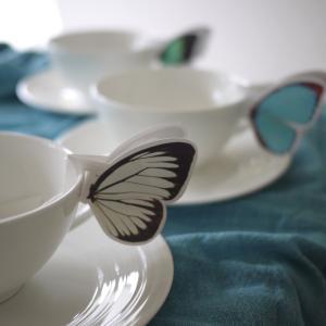美しいバタフライティー♪美味しい紅茶の淹れ方??