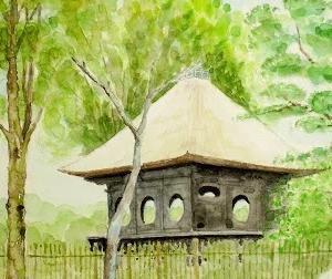 奈良公園・円窓亭