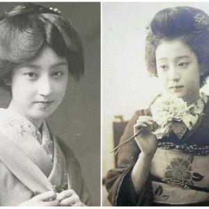 100年以上前の女の子の変顔写真が可愛すぎるwwwww