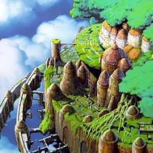ラピュタはここにあったんだ…自然に還る公園の廃墟が美しい