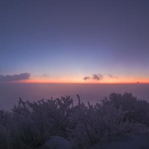 2020.1.15 九重連山周遊-霧氷の世界へ-