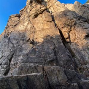 2021.10.10 free climbing