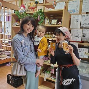 今井美穂ちゃん「HAPPYママランチ」を初体験!~離乳食用おいもかぼちゃ出来ました~