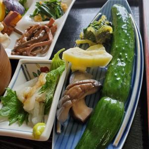 8月きらら野菜たっぷり日替わりランチがてんこ盛りな件
