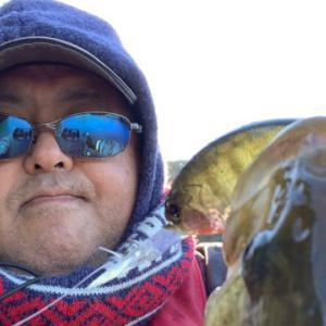1/2 2021年初釣り釣行 in 亀山ダム
