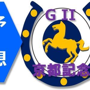 2/14(日)京都記念(G2)の予想。土曜に続きアパパネの仔。
