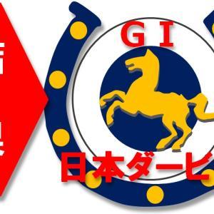 5/26(日)日本ダービー(G1)の結果。