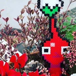 note更新「アイロンビーズで巣篭もりに華を」