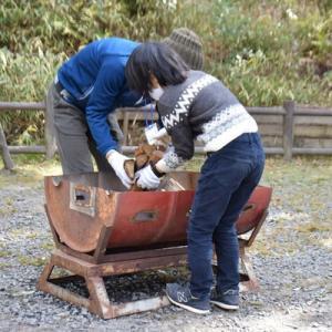 クワガタ探検隊 火起こし探検&焼き芋作り