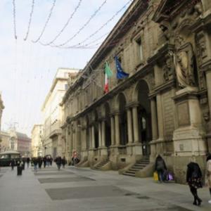季節はずれのチックエテッレ 4日目(3)ミラノ名物のミラノ風リゾットとオッソブッコ。