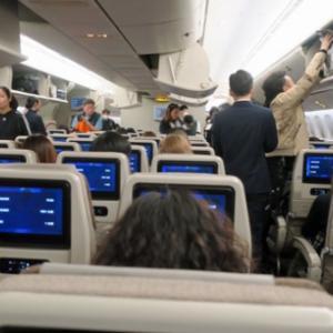 パリ新年カウントダウン1泊4日弾丸旅行 1日目(2)「ほんまもんの中国東方航空」で上海へ。