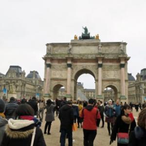 """パリ新年カウントダウン1泊4日弾丸旅行 2日目(7)大晦日のパリのディナーは、大衆食堂シャルティエ""""Bouillon Chartier""""。"""