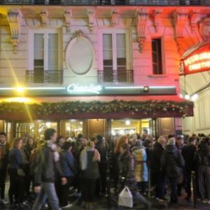 パリ新年カウントダウン1泊4日弾丸旅行 2日目(8)パリ新年カウントダウン会場であるシャンゼリゼ大通りへ。