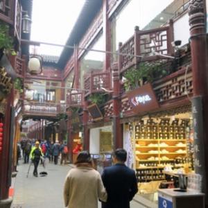 パリ新年カウントダウン1泊4日弾丸旅行 4日目(2)上海トランジット観光。豫園の南翔饅頭店で小籠包。