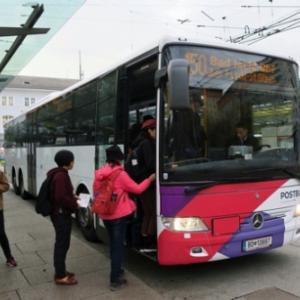 秋のウィーン、ザルツブルク、ハルシュタット周遊旅行 3日目(2)ザルツブルクからバート・イシュルに向かう150番バスは乗っているだけで楽しい景観路線。