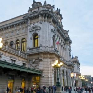 """季節はずれのチックエテッレ 3日目(8)ジェノヴァの大衆食堂「カブール21」""""Cavour21""""で夕ごはん。"""