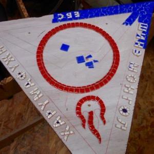 新モンゴル日馬富士学園の額と33tokyo