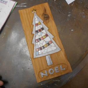 年末の出張教室用のクリスマスサンプル