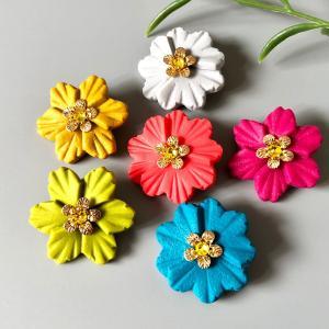 お花のブローチ手作りキット完成