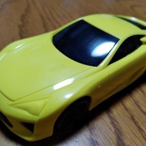 レクサス初のスーパーカー プラモデル