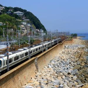 菅公橋から山陽本線を狙う!